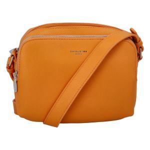 Dámská crossbody kabelka oranžová – David Jones Beatrio oranžová