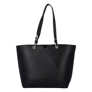 Dámská módní kabelka přes rameno černá – David Jones Bijanka černá