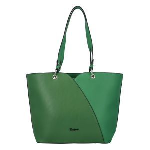 Dámská módní kabelka přes rameno sytě zelená – David Jones Bijanka zelená