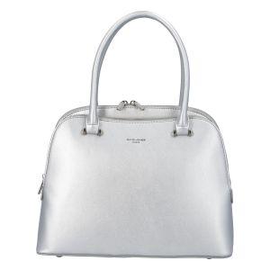 Dámská kabelka do ruky stříbrná – David Jones Hammi stříbrná