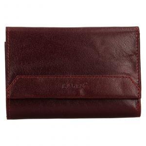 Dámská kožená peněženka Lagen Denisa – vínová