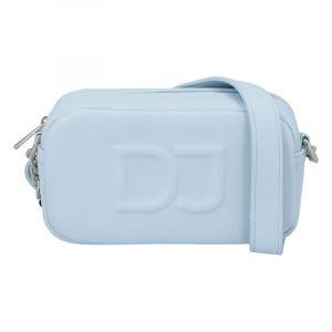 Malá dámská crossbody kabelka světle modrá – David Jones SannJary modrá