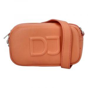 Malá dámská crossbody kabelka oranžová – David Jones SannJary oranžová