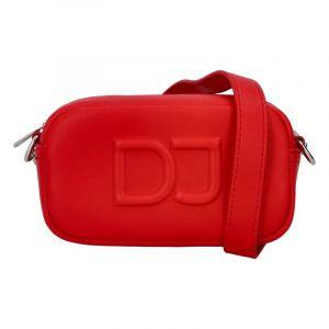 Malá dámská crossbody kabelka červená – David Jones SannJary červená