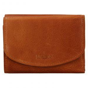 Dámská kožená peněženka Lagen Julie – koňak