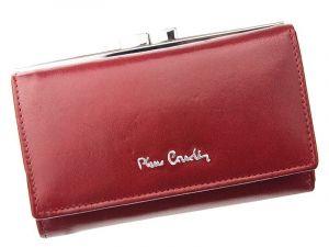 Dámská kožená peněženka Pierre Cardin Maria – vínová