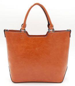 Pomerančová klasická kabelka Ines Delaure