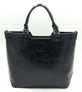 Černá klasická kabelka Ines Delaure