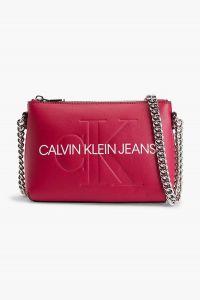 Růžová crossbody kabelka Calvin Klein Camera Pouch