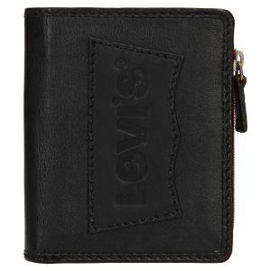 Pánská kožená peněženka Levis Daniel – černá