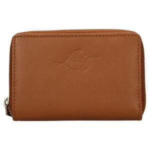 Dámská kožená peněženka Levis Harper – hnědá