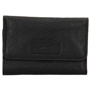 Dámská kožená peněženka Levis Olivia – černá