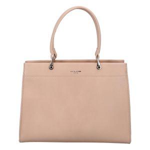 Dámská kabelka do ruky světle růžová – David Jones Rézza růžová
