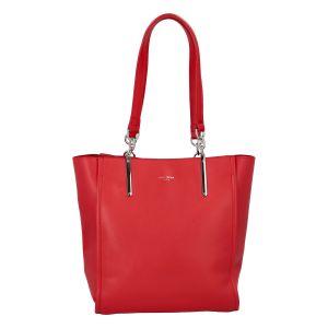 Dámská módní kabelka přes rameno červená – David Jones Vendula červená
