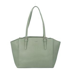 Dámská kabelka přes rameno bledě zelená – David Jones Vika zelená