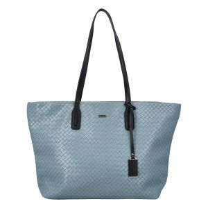 Velká dámská kabelka přes rameno bledě modrá – David Jones Sallary modrá
