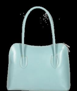 Malá kožená kabelka Palagio Azzuro Chiaro
