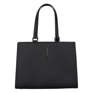 Dámská módní kabelka přes rameno černá – FLORA&CO Manan černá