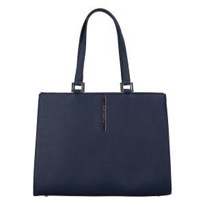 Dámská módní kabelka přes rameno tmavě modrá – FLORA&CO Manan tmavě modrá