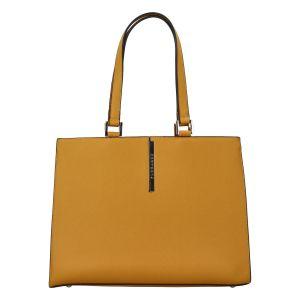 Dámská módní kabelka přes rameno žlutá – FLORA&CO Manan žlutá