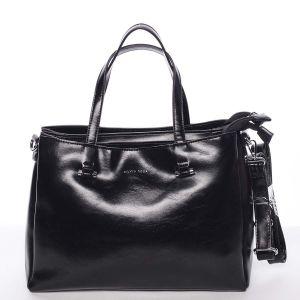 Černá elegantní kabelka – Silvia Rosa Saba černá