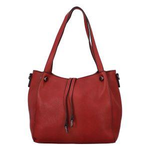 Dámská módní kabelka červená – FLORA&CO Pierryes červená