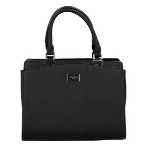 Dámská elegantní kabelka do ruky černá – FLORA&CO Stanleily černá