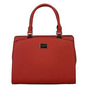 Dámská elegantní kabelka do ruky červená – FLORA&CO Stanleily červená