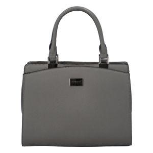 Dámská elegantní kabelka do ruky šedá – FLORA&CO Stanleily šedá