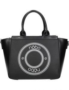 Nobo černá kabelka s předním potiskem vel. ONE SIZE 139614-507057