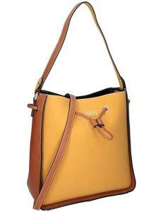 Nobo žluto-hnědá originální shopper bag vel. ONE SIZE 139643-507089