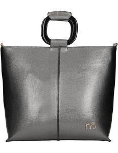 Nobo stříbrná lesklá shopper bag vel. ONE SIZE 139649-507095