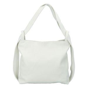 Dámská kožená kabelka přes rameno bílá – ItalY Armáni bílá