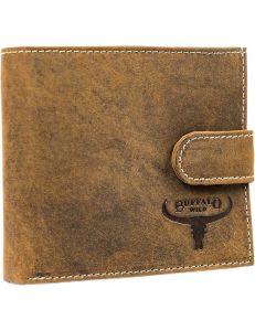 Buffalo wild světle hnědá pánská peněženka vel. ONE SIZE 116063-508636
