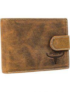 Buffalo wild světle hnědá pánská peněženka vel. ONE SIZE 116068-508637