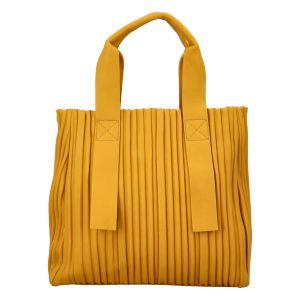 Dámská kabelka žlutá – Paolo Bags Calagata žlutá