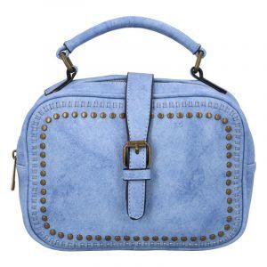 Dámská originální kabelka světle modrá – Paolo Bags Sami modrá