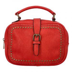 Dámská originální kabelka červená – Paolo Bags Sami červená