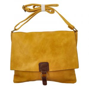 Dámská crossbody kabelka žlutá – Paolo Bags Adsaast žlutá