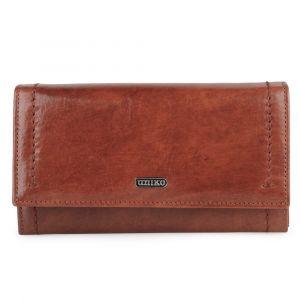 Uniko Dámská kožená peněženka Astoria 310904 – hnědá