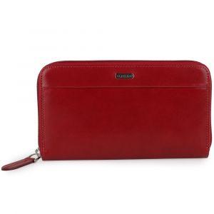 Uniko Dámská kožená peněženka Alhambra – červená