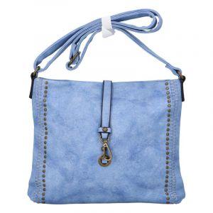 Dámská crossbody kabelka světle modrá – Paolo Bags WilMary modrá