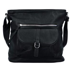 Dámská crossbody kabelka černá – Paolo Bags Hayerany černá