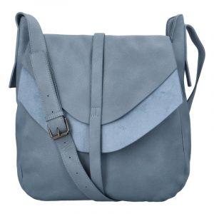 Dámská módní kabelka přes rameno modrá – Paolo Bags Aethiops modrá