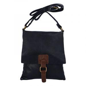 Dámská crossbody kabelka tmavě modrá – Paolo Bags Finiona tmavě modrá