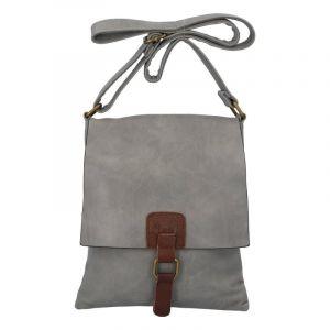 Dámská crossbody kabelka šedá – Paolo Bags Finiona šedá