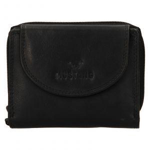 Dámská kožená peněženka Mustang Alice – černá