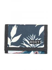 Roxy SMALL BEACH ANTHRACITE PRASLIN S dámská značková peněženka – modrá