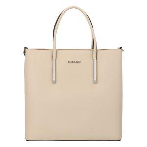 Luxusní dámská kabelka béžová – FLORA&CO Paris béžová