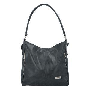 Dámská kabelka přes rameno tmavě šedá se vzorem – Ellis DjanGoa šedá